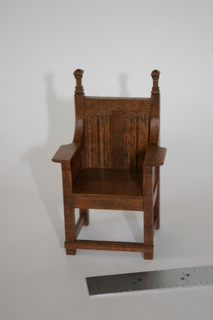 mini carved chair