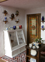 Mini pottery shop-interior